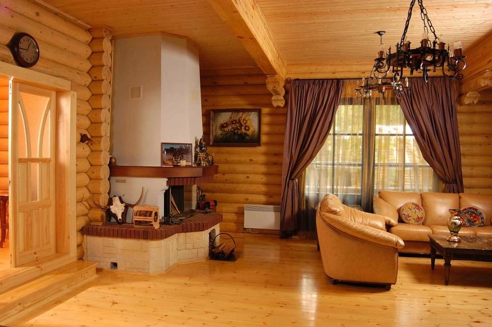 Блок хаус в интерьере или как добиться деревянной гармонии