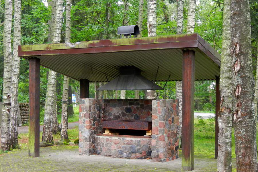 Какие «плюсы» имеют мангалы для дачи с крышей, и какую конструкцию лучше сделать?