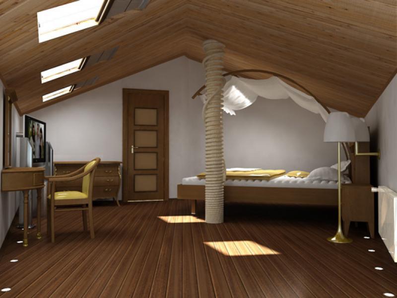 Утепление мансарды изнутри для создания новой комнаты из старого чердака