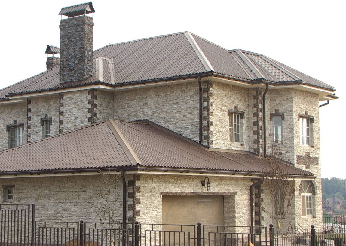 Внешняя отделка дома с использованием современных материалов