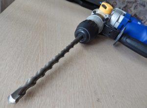 Сверла по бетону для перфоратора и дрели