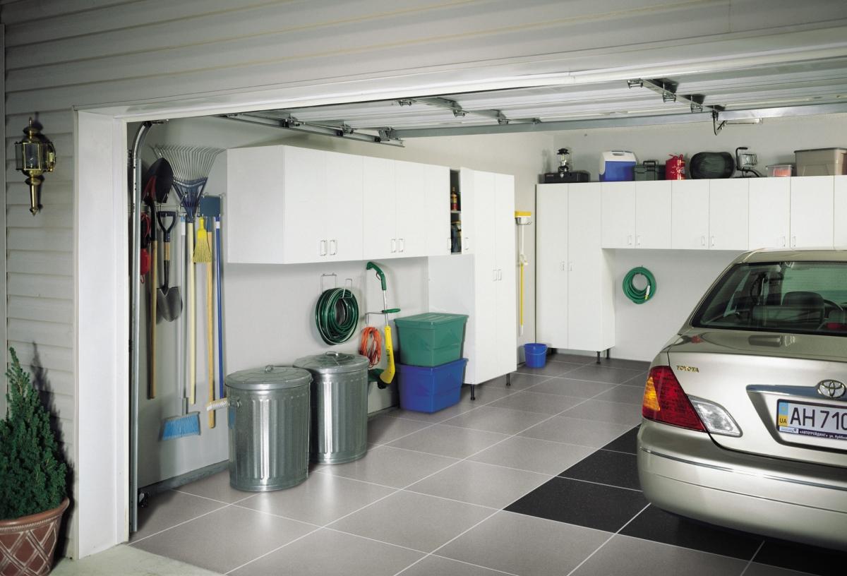 укладка полов в гараж