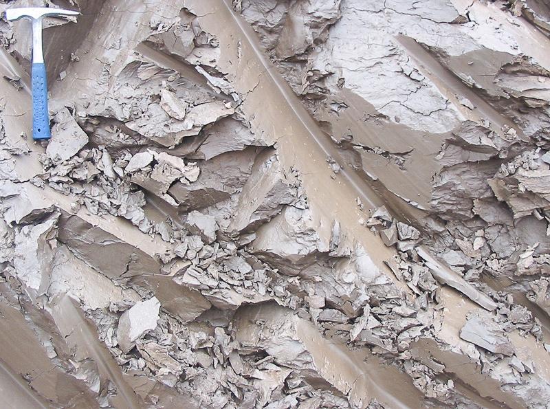 Жирная глина для обработки котлована