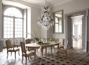 Французский стиль в интерьере столовой