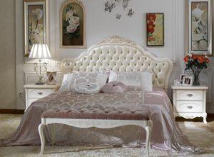 Белая французская спальня