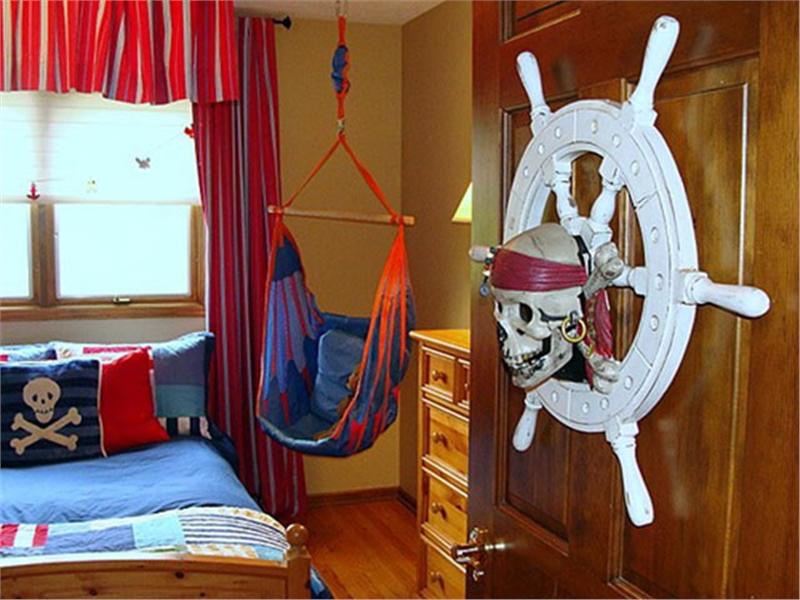 Комната подростка в морском стиле
