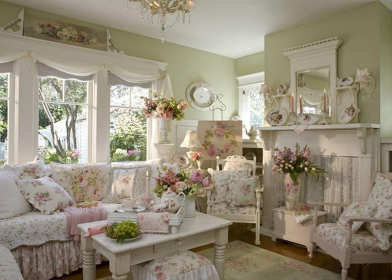 Комната во французском стиле