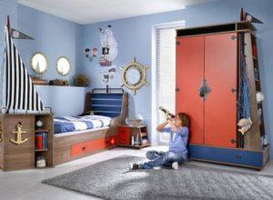 Морская детская комната для мальчика