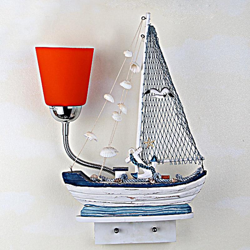 Настольная лампа в морской тематике
