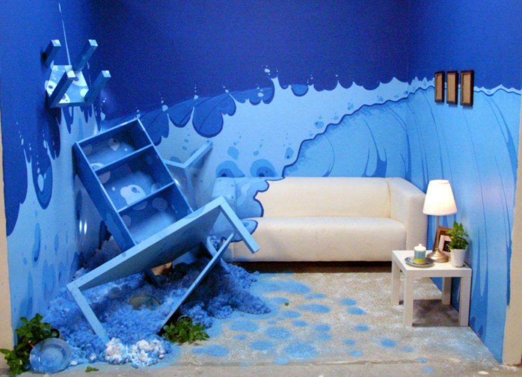 Ошибки морского дизайна в детской
