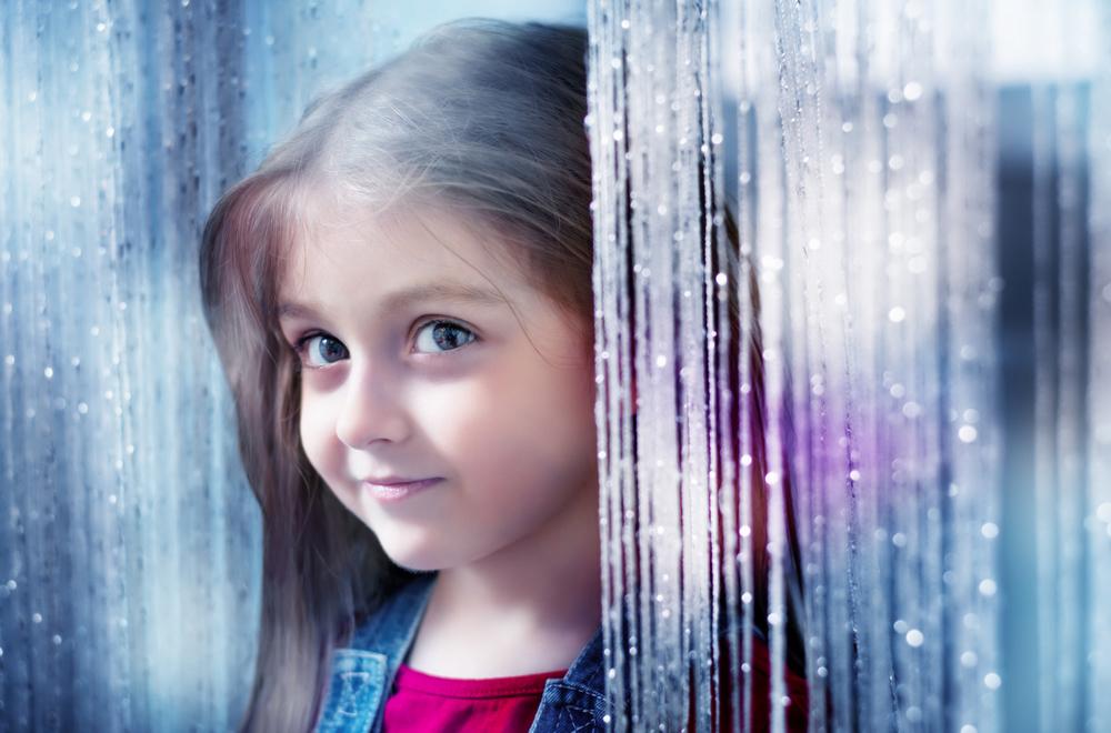 Кисея «дождь» в детской