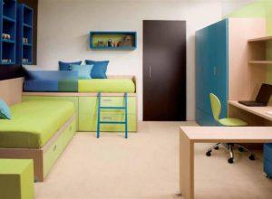 Современная универсальная детская комната