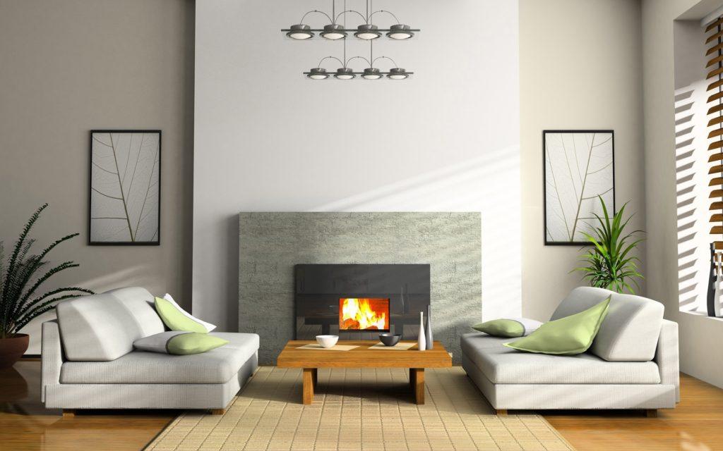 Декор в стиле минимализм