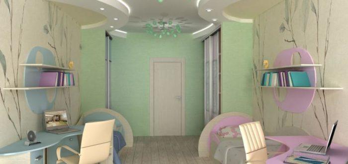 детская для мальчика и девочки в одной комнате