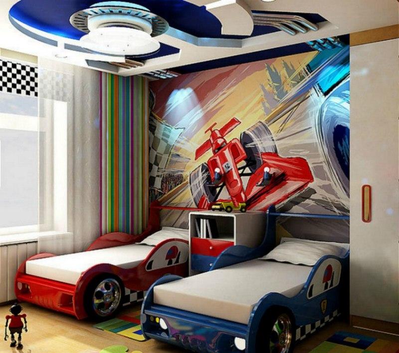 Кровати в виде автомобилей