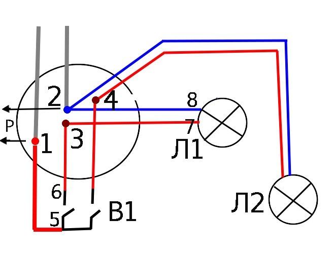 Эскиз соединения в коробке