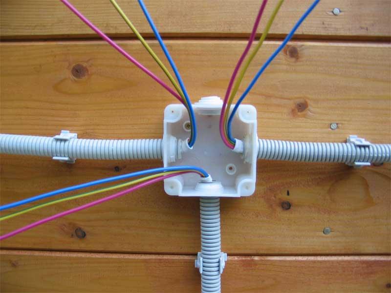 подключение провода в скрутку