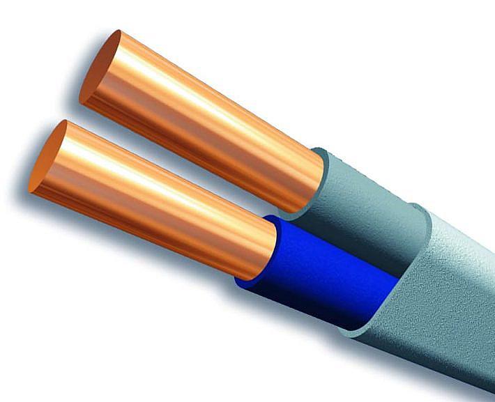 Схематичное изображение провода ПУНП