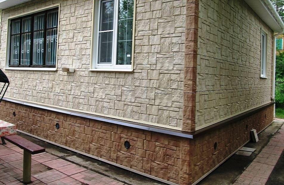 Обшивка стен фасадными панелями