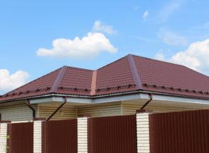 Снегозадержатели на крыше сложной формы