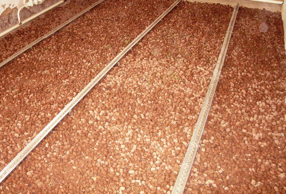 Теплоизоляция крыши керамзитом
