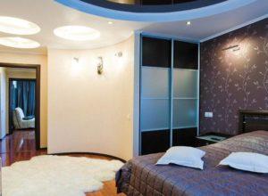 Круглая спальня с гардеробной