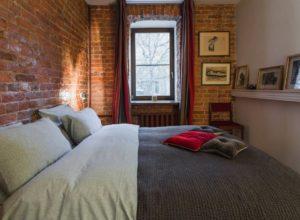 Лофт в маленькой спальне