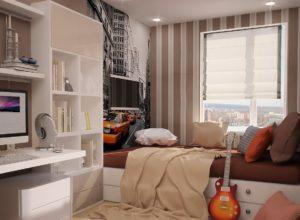Маленькая спальня для парня