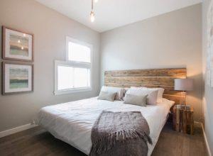 Минимализм для маленькой спальни
