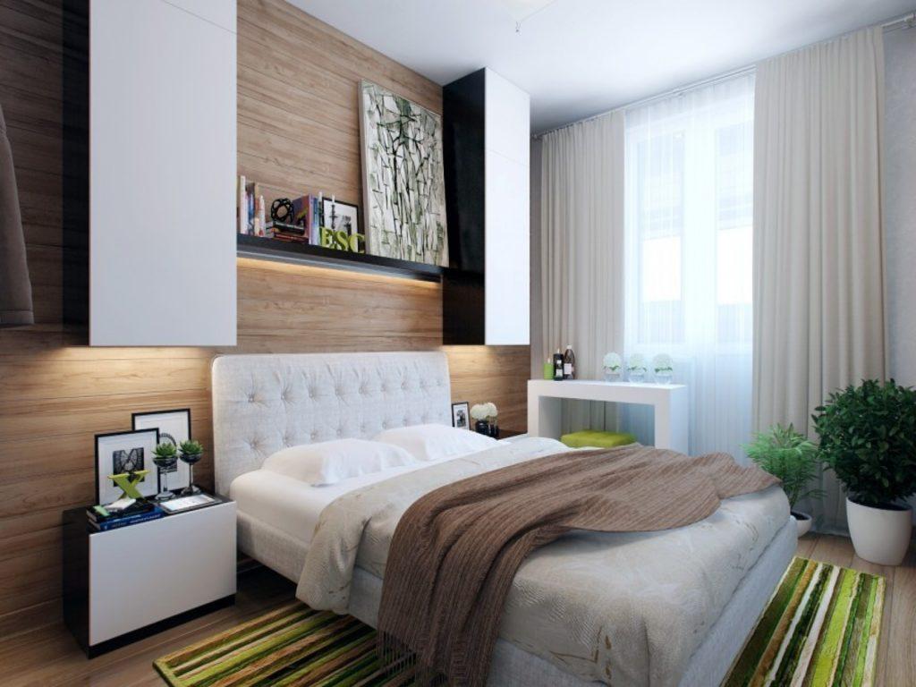 Спальня в стиле унисекс